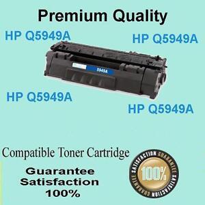 2x Black Toner for HP Q5949A 49A LaserJet 1160 1320nw 1320t 1320tn 3390 3392