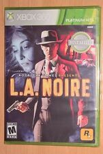 L.A. Noire (Xbox 360) NEW FACTORY SEALED --- Platinum Hits LA Noir Video Game