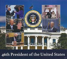 More details for antigua & barbuda 2021 mnh joe biden stamps 46th us presidents politicians 5v ms