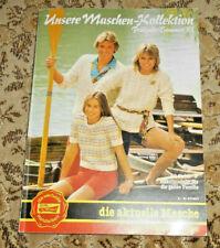Wolle Rödel von 1983 Stricken  Strickheft Handarbeitsheft
