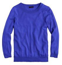 J Crew Womens Merino Wool Tippi Sweater Royal Blue Career - Size S