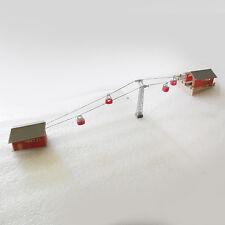 Art.Nr. 5033 - Modellbausatz - Set Seilbahn - Spur-Z (Bremer Modellbau)