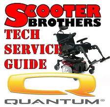 Quantum Rehab Tru Balance Seating Diagnostics Manual Service Guide Pride Chair