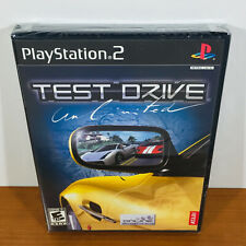 Test Drive Unlimited (PS2) Rare 1st Print! Black Label! Brand New Sealed!