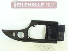 BMW E61 E60 5er Dekorblende Schaltung Mittelkonsole Riegelahorn schwarz 7059911