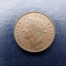 More details for 1827 george iv third farthing recieve the coin pictured free uk p&p