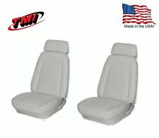 Seat Upholstery 1969 Camaro Coupe Front Bucket & Rear Bench Foam Bright White