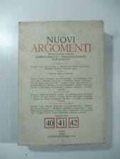 Nuovi Argomenti, nuova serie, luglio-dicembre 1974 Anna Maria Ortese, Barthes
