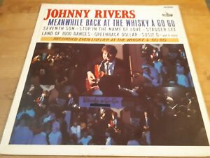 """Johnny Rivers,""""Meanwhile Back At The Whisky A Go Go"""", 1965 UK Album."""