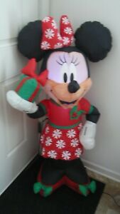 DISNEY MINNIE MOUSE CHRISTMAS AIRBLOWN INFLATABLE 3.5 FT -ENERGY EFFICIENT LED