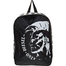 Diesel Branded School Backpack For Boy`s Black