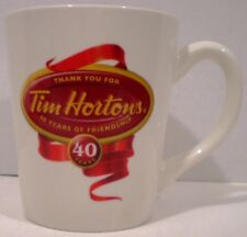 Tim Hortons Mug 40 Years Limited Edition 2004