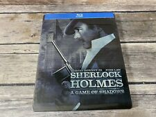 Sherlock Holmes A Game Of Shadows Blu-Ray STEELBOOK Robert Downey Jr NEW Sealed