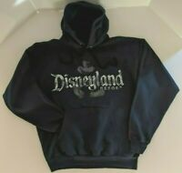 Disneyland Resort Mickey Mouse Sweatshirt Hoodie Pull Over Dark Blue Mens XL