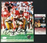 Dwight Clark Signed Photo 8X10 San Francisco 49ers Action NFL JSA COA