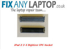 2x iPad 2 3 4 Digitizer Touch Screen FPC Socket Connector