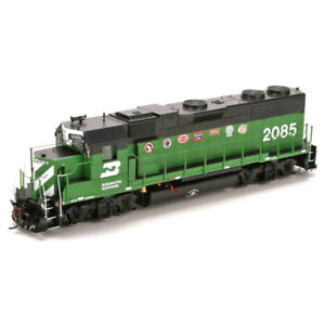 Athearn HO EMD GP38-2 Burlington Northern Pacific Pride BN #2085 DC LED ATHG6807