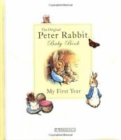 My First Year: Peter Rabbit Baby Book by Beatrix Potter