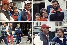 Ian Botham's East Coast walk for the leukaemia Research Fund - 1990