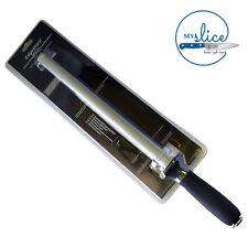 "Edgesharp 12"" Diamond Sharpening Steel H1034 - Butcher / Hunter / Home"