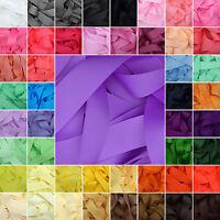 Grosgrain Ribbon Rolls 32 Colours 25m 50m Metres 3mm 6mm 10mm