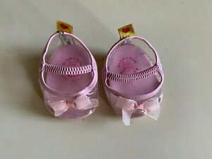 Build-A-Bear Workshop pink plastic shoes