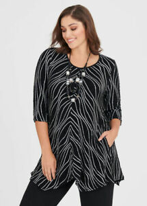 ts Taking Shape Top Size M Natural Splice of Life style NWT