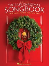 The Easy Christmas Songbook Sheet Music Easy to Play on Piano or Guita 000120978