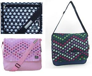 Ladies Messenger Courier Hand Bag Handbag Satchel Travel Shoulder Canvas Satchel