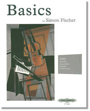 Basics: 300 Exercises & Practice Routines for Violin by Simon Fischer
