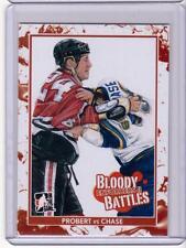 BOB PROBERT VS KELLY CHASE 13/14 ITG Enforcers 2 II Bloody Battles #170 Card