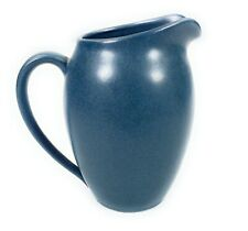 "Noritake Colorwave Blue Creamer Milk Pitcher 4"" Stoneware 11 Oz."
