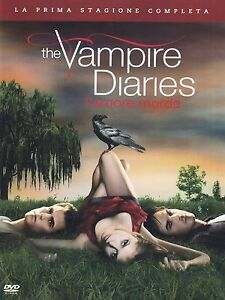 COFANETTO DVD - THE VAMPIRE DIARIES STAGIONE SERIE 1 SERIE TV (5 DVD)