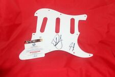 dan and shay band signed auto  ELECTRIC pickguard with COA