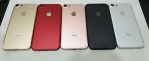 iPhone 7&7+ Rear Battery Housing Door Cover  Jet Black/Matt /Gold/Red/Rose Gold