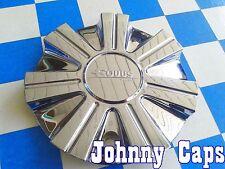 EQUUS Wheels [60] Chrome Center Caps # KLASH FWD Custom Wheel Center Hub Cap (1)