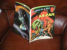 UNE AVENTURE DES X-MEN N°1 KA-ZAR - 2e TRIMESTRE 1975 LUG MARVEL