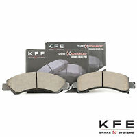 REAR NEW Set Plus Shims KFE653 KFE540 Premium Ceramic Disc Brake Pad FRONT