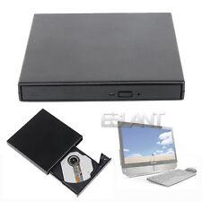 USB 2.0 Externa Slim DVD Reproductor De CD±RW Drive escritor para Laptop PC Mac