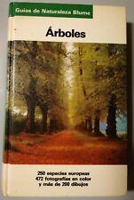 Arboles - Libro de Guías De Naturaleza Blume (Ilustrado)