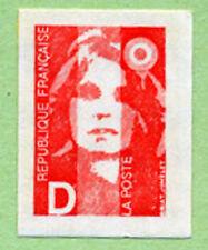 Timbre autocollant n° 2, Marianne du Bicentenaire, à l'unité
