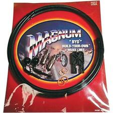 Magnum Single Disc Brake Line Kit  35 Deg Banjo - Black 496135A*