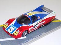 1/43 Bizarre WM Peugeot   #83 1981 24 H of LeMans  BZ59
