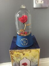 Disney Beauty Beast Snowglobe Enchanted Rose Brand New In Box Sold Out Globe