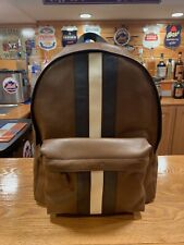 Coach Leather Backpack Men