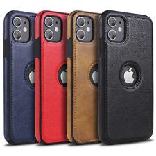 MiKKi Leder Synthetisch Business Handy Schutzhülle Case f. Apple iPhone Serie