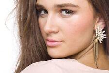 Orecchini DONNA Ear Stud Fashion Primavera Estate perlescenti WING & Tassle REGALO