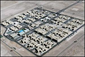 Coalition Compound at Prince Sultan Air Base, Saudi Arabia 2000 8x12 Photo