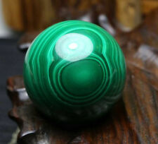 - MALACHITE Gemstone Sphere Healing Magical 50mm+Stand */