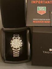 TAG Heuer Formula 1 Quartz Green Dial Date Stainless Steel Watch #WAH1113.BA0858